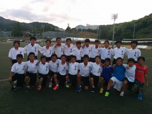 28.8.23 U-13岡山遠征②